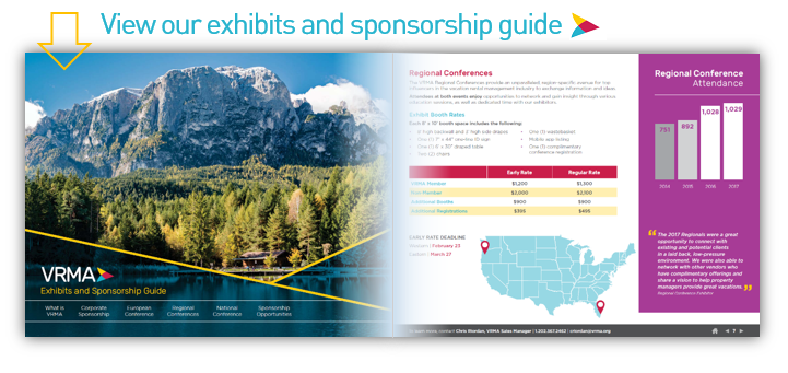 VRMA Exhibits and Sponsorship Guide